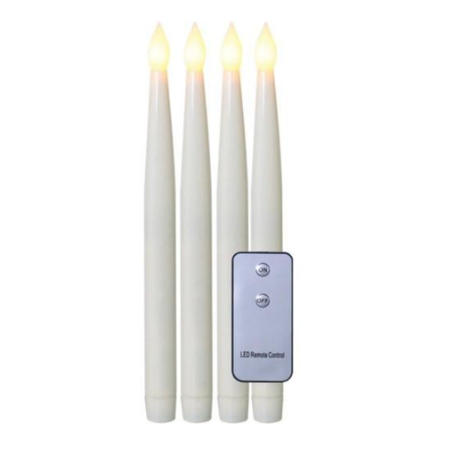 Tapered LED candles